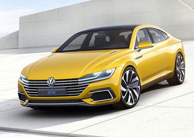 Volkswagen Sport Coupe Concept GTE: Passat CC v novém?