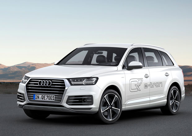 Audi Q7 e-tron 3.0 TDI quattro: Velké SUV jako sériový plug-in hybrid