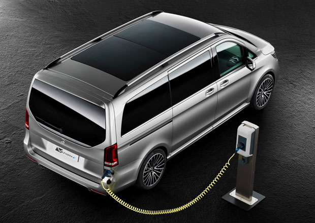 Mercedes-Benz Concept V-ision e: Třída V jako plug-in hybrid