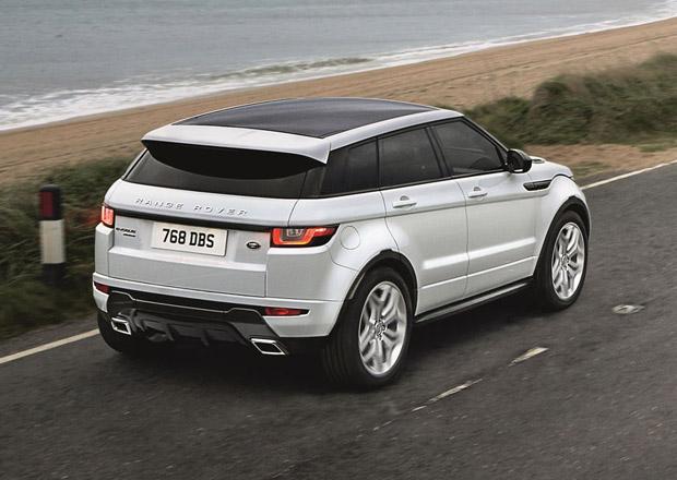 Range Rover Evoque MY16: V České republice od 973 tisíc korun