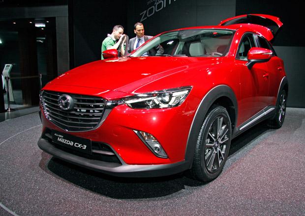 Mazda CX-3: První statické dojmy