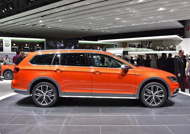 Volkswagen Passat Alltrack: První statické dojmy