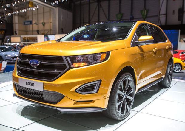 Ford Edge Sport: Nový crossoverový topmodel pro Evropu