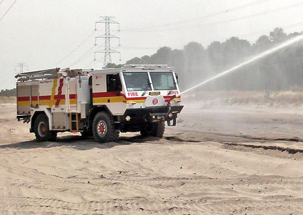 Tatra 815-7 pro australské hasiče