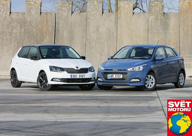 Duel roku: Hyundai i20 vs. �koda Fabia