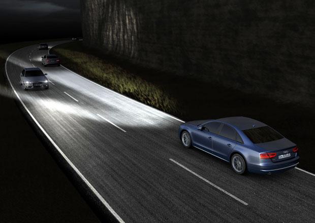 Audi a LED osvětlení: Diody, kam se podíváš