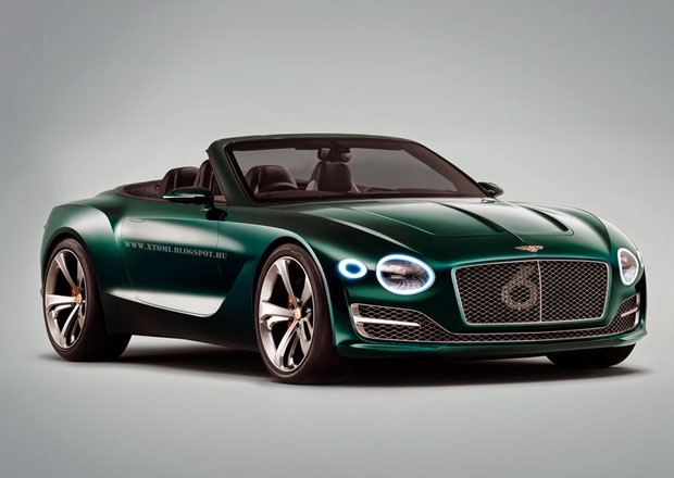 Bentley EXP 10 Speed 6: Možná podoba kabria