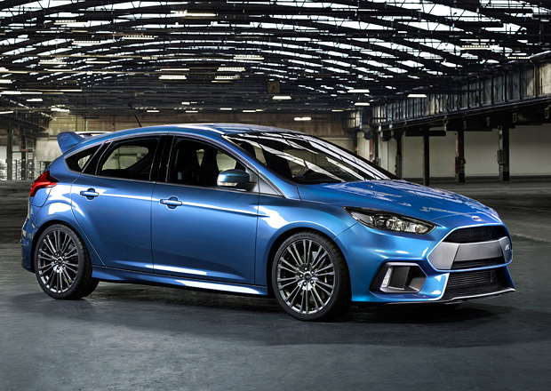 Ford Focus RS bude umět driftovat a dostane launch control