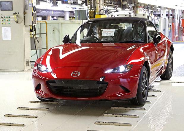 Mazda MX-5: Výroba zahájena, má mít až 160 koní