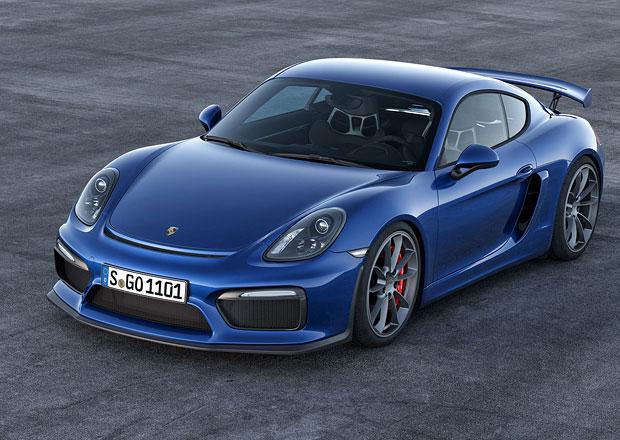 Porsche Cayman: Do�k�me se tak� verze GT4 RS?