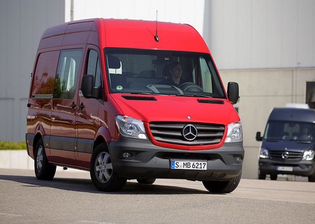Mercedes-Benz Sprinter: Nová generace i na elektřinu