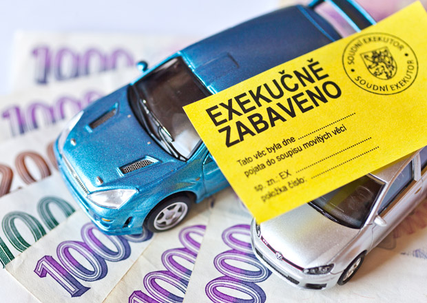 Ojetiny a exekuce: Klidně vám seberou auto