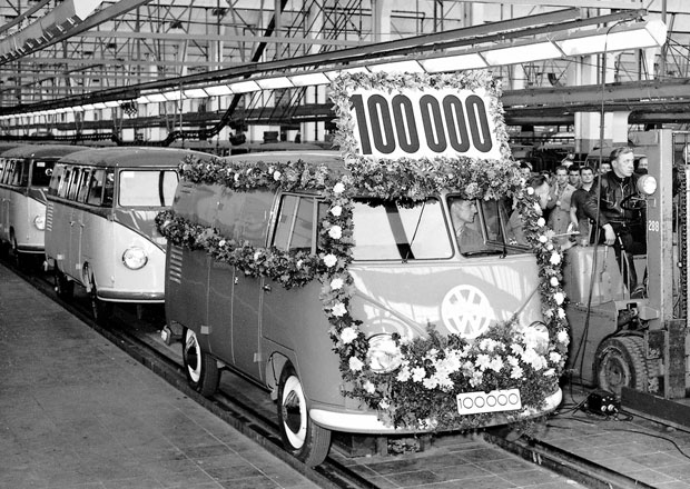 Volkswagen Transporter av�roba jeho 1. generace