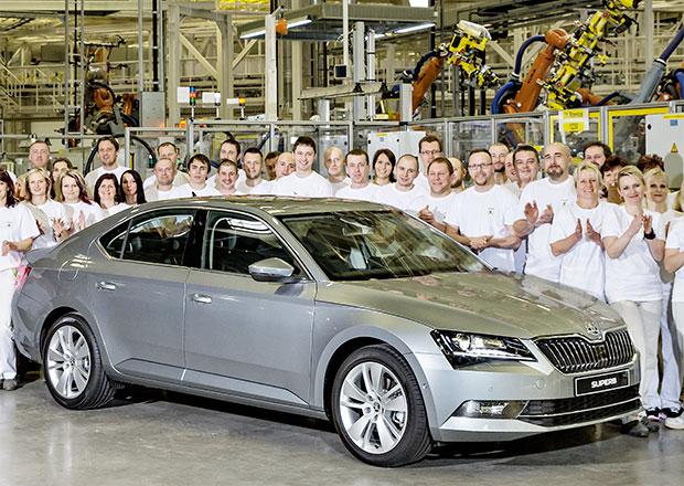 Škoda Superb III: Dnes byla zahájena výroba v Kvasinách