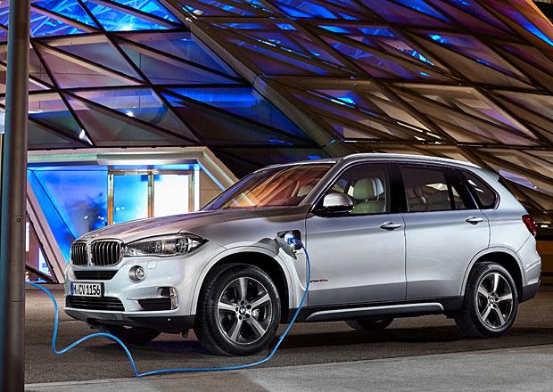 BMW X5 xDrive40e: Velk� bavorsk� SUV jako s�riov� plug-in hybrid