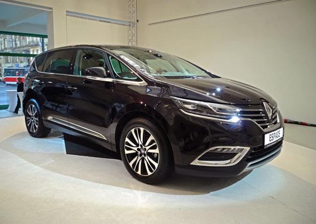 Renault v �esku uvedl nov� Espace, v�z si ji� m�ete objednat