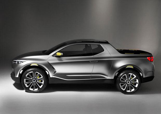 Hyundai bude vyr�b�t pick-up Santa Cruz