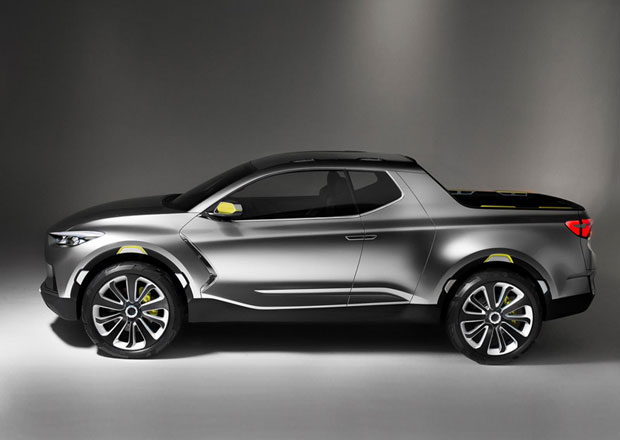 Hyundai bude vyrábět pick-up Santa Cruz