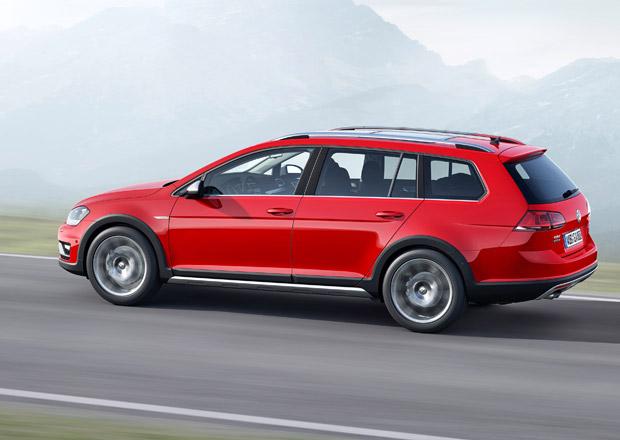 Volkswagen Golf Variant: České ceny verzí R, GTD a Alltrack