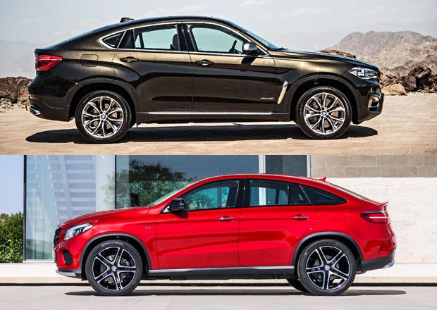 Cenové srovnání: Mercedes-Benz GLE kupé vs. BMW X6