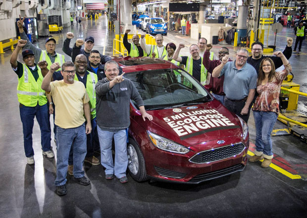 Ford již vyrobil 5 milionů motorů EcoBoost