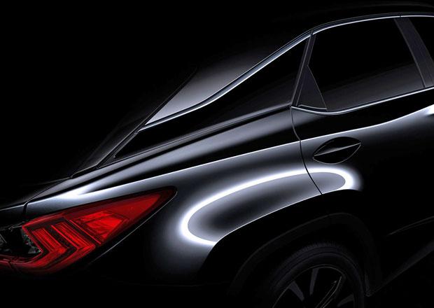 Lexus RX pro rok 2016 se ukazuje na první upoutávce (+video)
