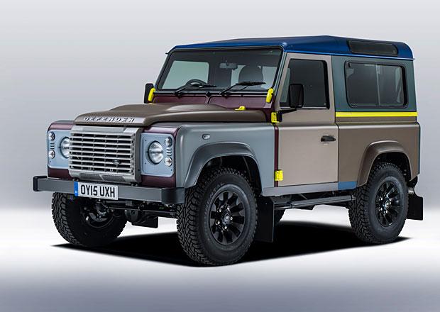 Land Rover Defender Paul Smith: Pestrý originál s 27 laky karoserie