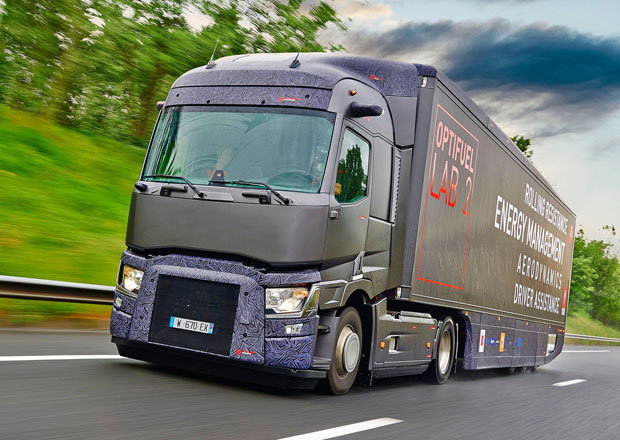 Renault Trucks Optifuel Lab 2: Snížení spotřeby paliva o 22 %
