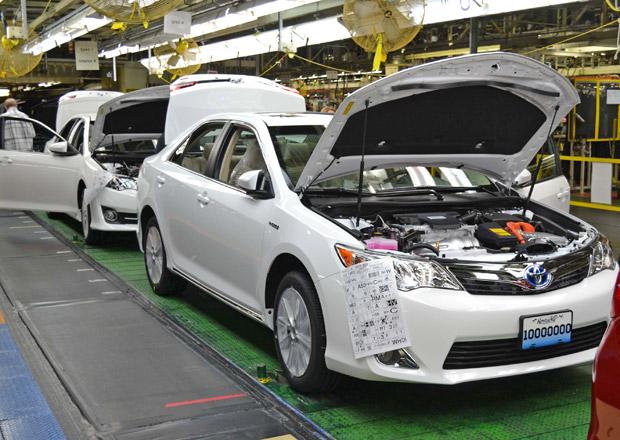 Také Toyota chce vyrábět auta v Mexiku