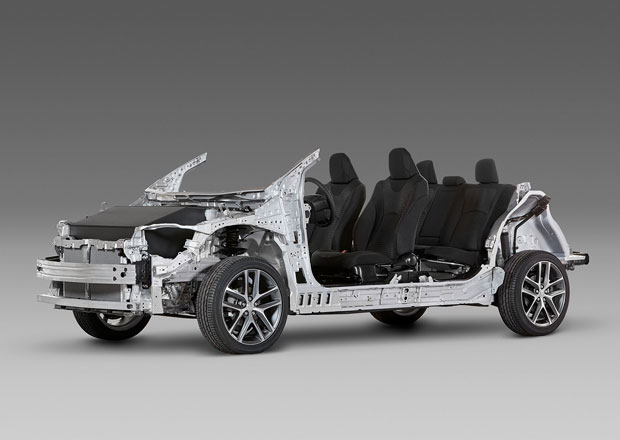 Toyota: Modulární platforma TNGA je japonská odpověď na MQB