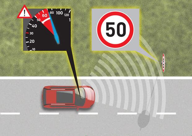 Inteligentní tempomat Fordu vám zabrání překročit povolenou rychlost