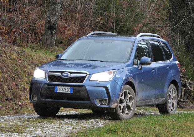 Subaru Forester: Turbodiesel s Lineartronicem stojí 839.000 Kč