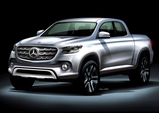 Pick-up Mercedes-Benzu nebude jen Nissan Navara s jinými znáčky, ale vážně luxusní stroj