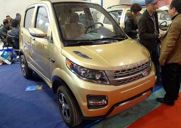 Tak tohle ne: Čínská kopie Range Roveru je bizarní miniauto!