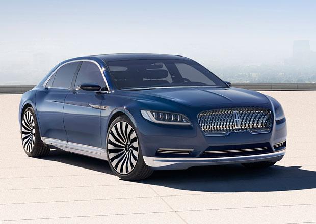 Koncept nového Lincolnu Continental se představí vNew Yorku (+videa)