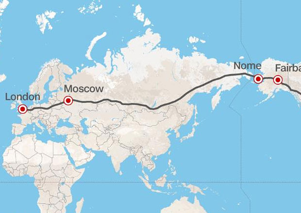 """Projekt """"superdálnice"""": Nejdelší silnice světa má spojit Londýn a New York"""