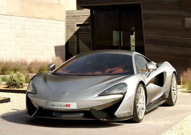 Civilnější McLaren 570S míří do výroby, jede přes 320 km/h