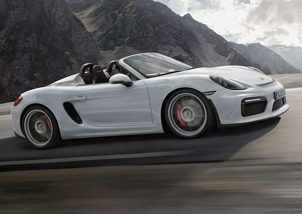 Porsche Boxster Spyder: Puristick� roadster s 3,8litrov�m boxerem