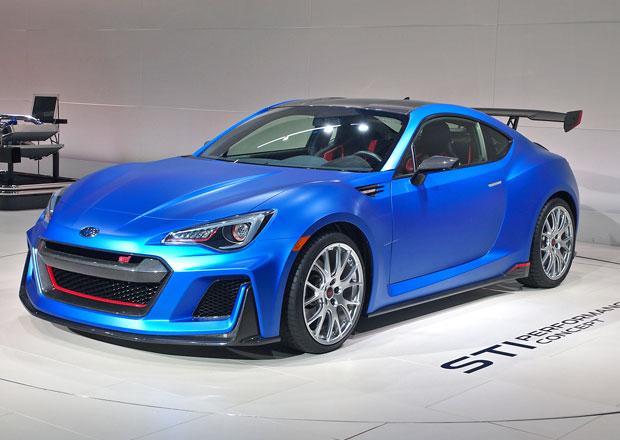 Posílené Subaru BRZ je zde, i když jen jako koncept
