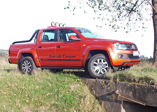 Volkswagen Amarok Canyon 2.0 BiTDI AT: Lifestylový pracant