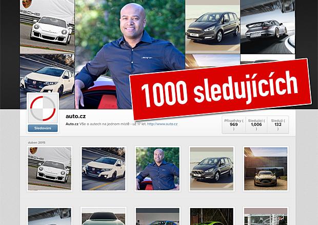Již 1000 lidí sleduje Auto.cz na instagramu, přidejte se k nim také!