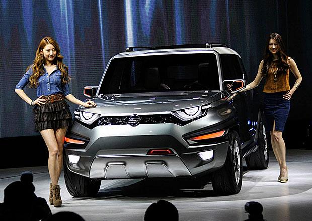 SsangYong XAV: Korejci se v�st�edn�ho designu nevzd�vaj�