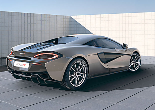 Nejlacinější McLaren bude mít 540 koní