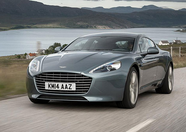 Aston Martin připravuje elektrickou verzi Rapide