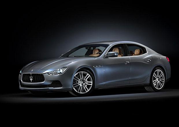 Maserati Ghibli a Quattroporte nabídnou luxusní interiér Ermenegildo Zegna