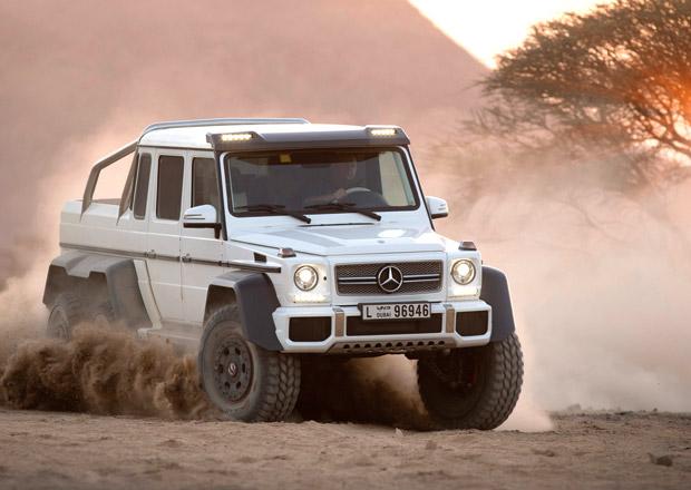 Mercedes-Benz G 63 AMG 6x6: Výroba brutální šestikolky skončí v dubnu