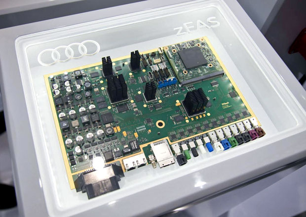 Audi ukázalo centrální řídicí jednotku pro autonomní jízdu
