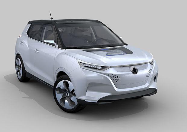 SsangYong Tivoli EVR: Koncept elektromobilu