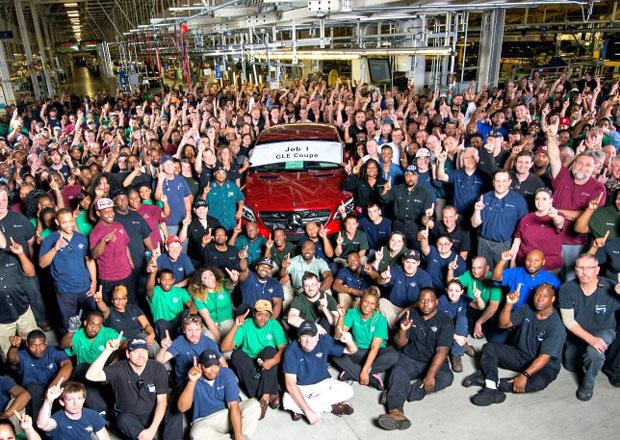 Produkce Mercedes-Benzu GLE Coupé začala