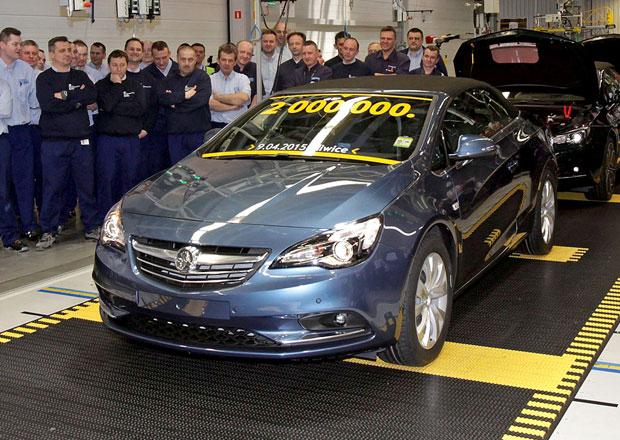 Opel vyrobil v polsk�ch Gliwic�ch ji� dva miliony automobil�